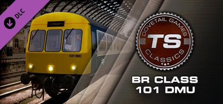 Clickable image taking you to the DPSimulation page for the BR Class 101 DMU Add-On DLC for Train Simulator