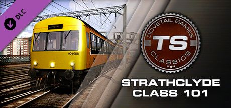 Clickable image taking you to the DPSimulation page for the Strathclyde Class 101 DMU Add-On DLC for Train Simulator