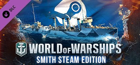 Clickable image taking you to the Steam store page for the Smith Steam Edition DLC for World of Warships