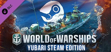 Clickable image taking you to the Steam store page for the Yubari Steam Edition DLC for World of Warships