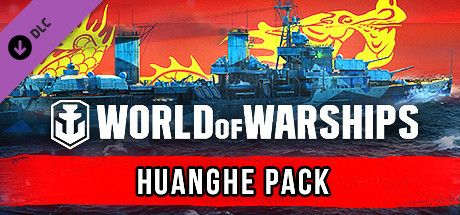 Clickable image taking you to the Steam store page for the Huanghe Pack DLC for World of Warships