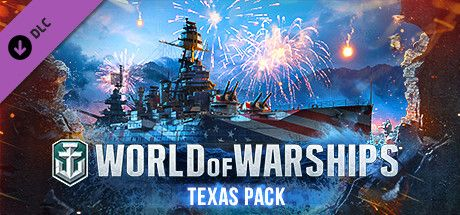 Clickable image taking you to the Steam store page for the Texas Pack DLC for World of Warships