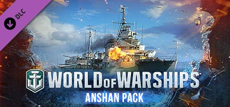 Clickable image taking you to the Steam store page for the Anshan Pack DLC for World of Warships