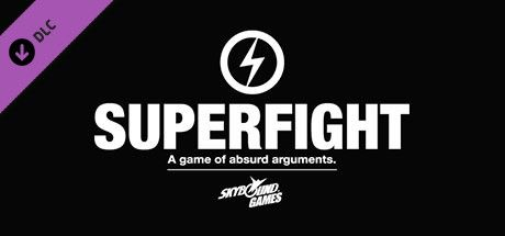 Clickable image taking you to the Steam store page for the Superfight DLC for Tabletop Simulator