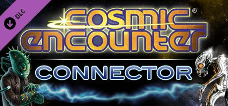 Clickable image taking you to the Steam store page for the Cosmic Encounter Connector DLC for Tabletop Simulator