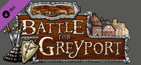 Clickable image taking you to the Steam store page for the Red Dragon Inn: Battle For Greyport DLC for Tabletop Simulator