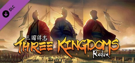 Clickable image taking you to the Steam store page for the Three Kingdoms Redux DLC for Tabletop Simulator