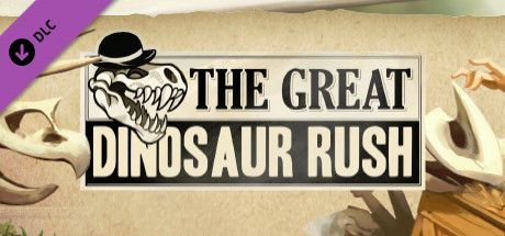 Clickable image taking you to the Steam store page for the Great Dinosaur Rush DLC for Tabletop Simulator