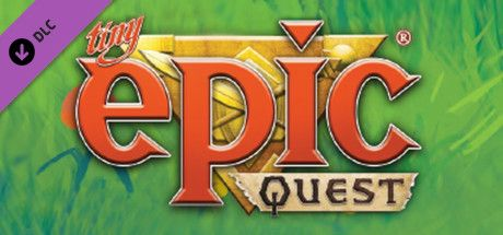 Clickable image taking you to the Steam store page for the Tiny Epic Quest DLC for Tabletop Simulator