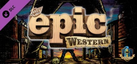 Clickable image taking you to the Steam store page for the Tiny Epic Western DLC for Tabletop Simulator