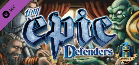 Clickable image taking you to the Steam store page for the Tiny Epic Defenders DLC for Tabletop Simulator