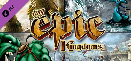 Clickable image taking you to the Steam store page for the Tiny Epic Kingdoms + Heroes' Call DLC for Tabletop Simulator