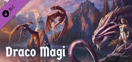 Clickable image taking you to the Steam store page for the Draco Magi DLC for Tabletop Simulator
