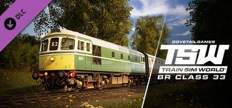 Clickable image taking you to the DPSimulation page for the BR Class 33 Loco Add-On DLC for Train Sim World