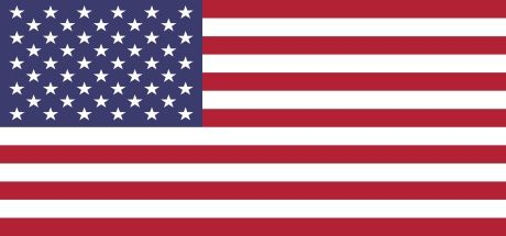 Image showing national flag of the United States of America