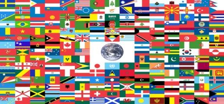 Image depicting a Rest of the World flag