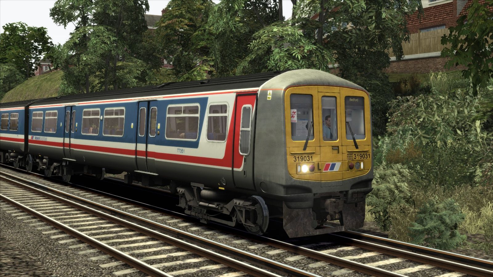 Image showing screenshot of the Network South East Class 319 Add-on Livery on the TS Marketplace
