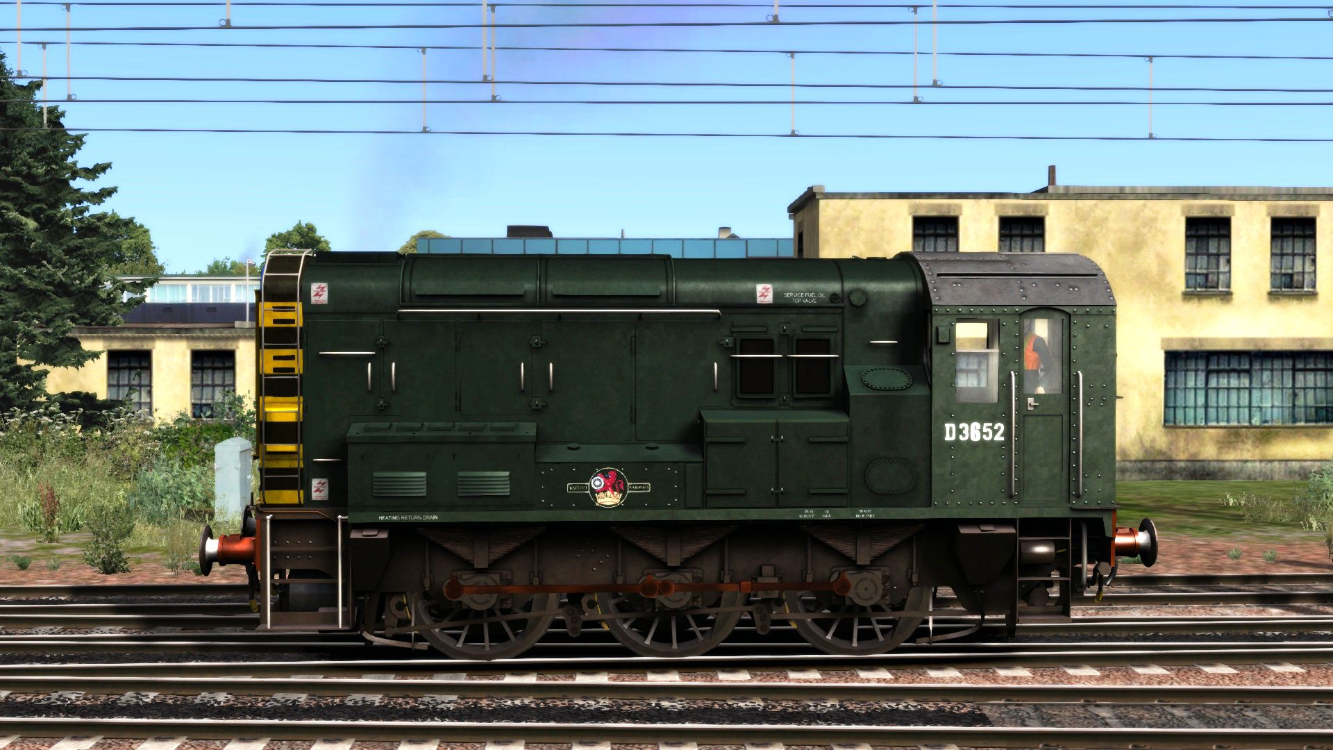 TS Marketplace: BR Blue Class 08 Add-on Livery 2014 pc game Img-4