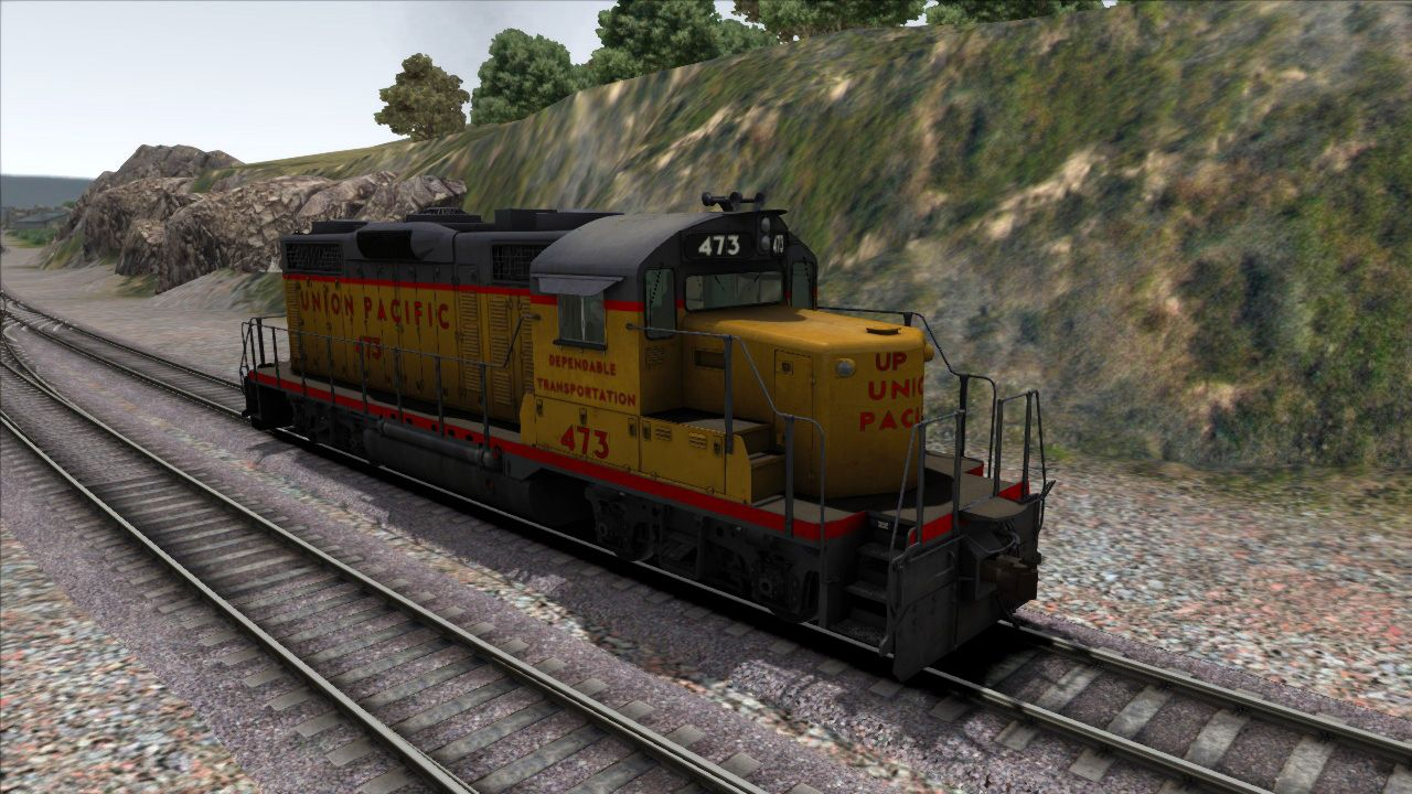 Image showing screenshot of the GP20 Union Pacific Add-on Livery on the TS Marketplace
