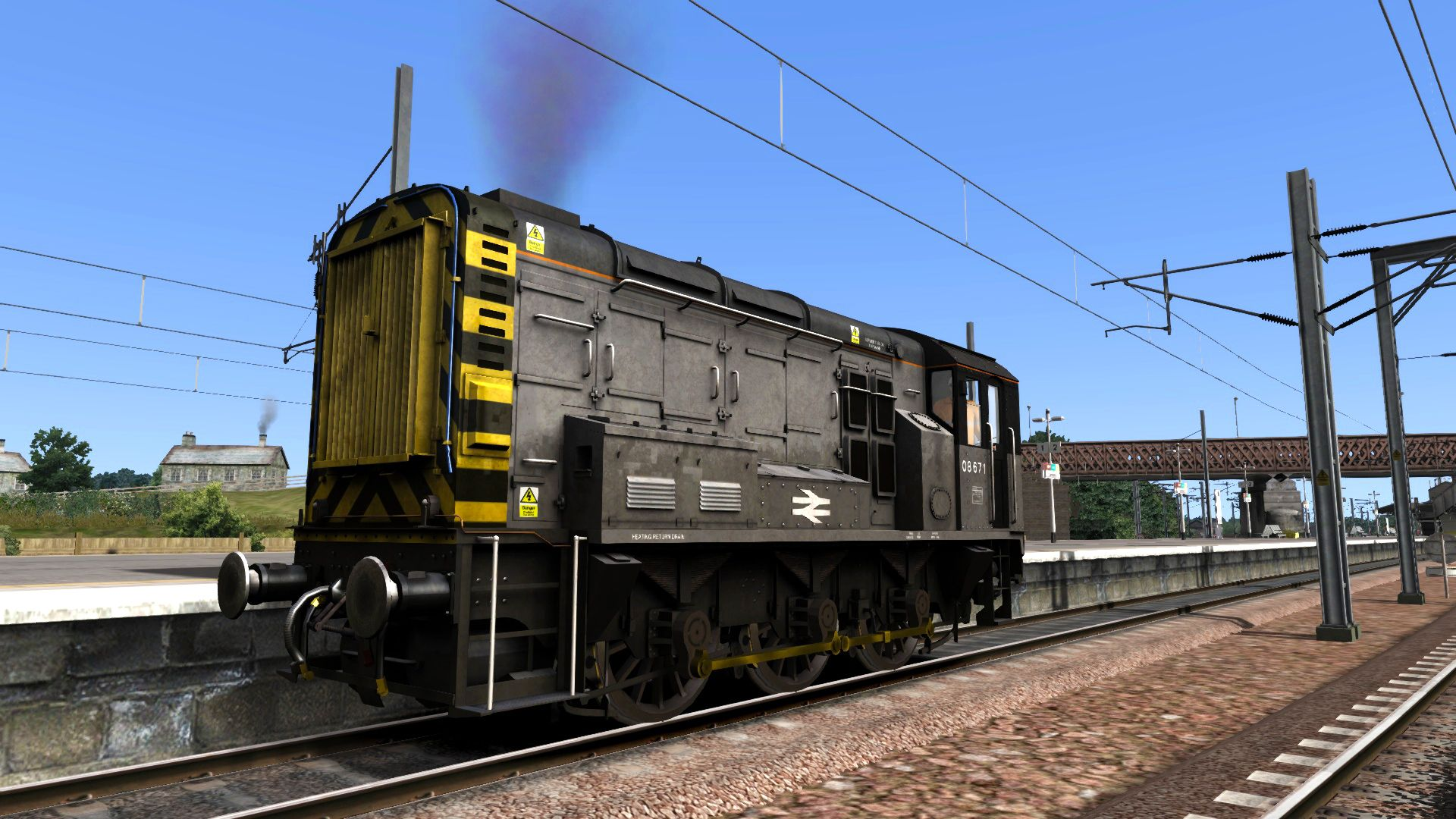 Image showing screenshot of the BR General Class 08 Add-on Livery on the TS Marketplace