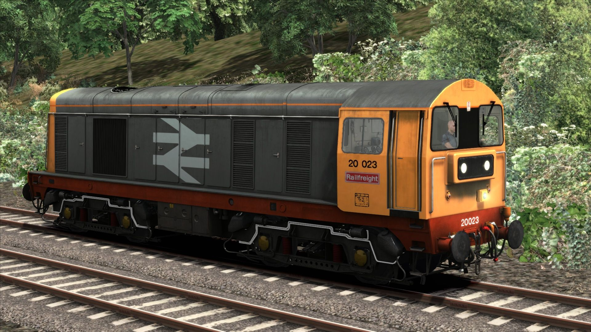 Image showing screenshot of the BR Railfreight Class 20 Add-On Livery on the TS Marketplace