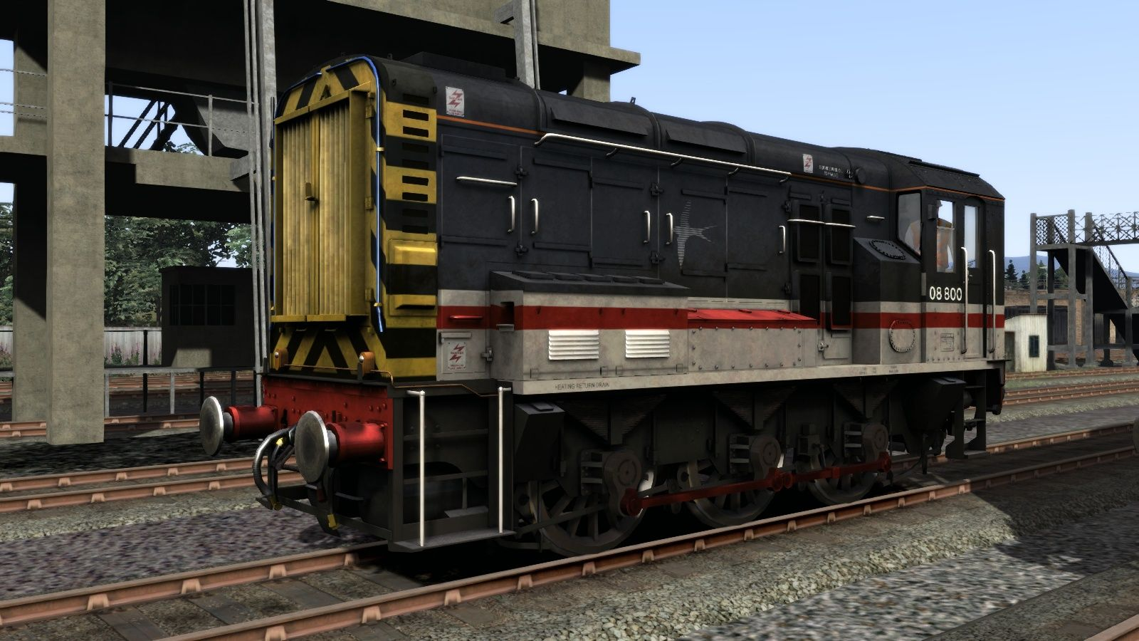 Image showing screenshot of the Class 08 InterCity Livery Add-On on the TS Marketplace