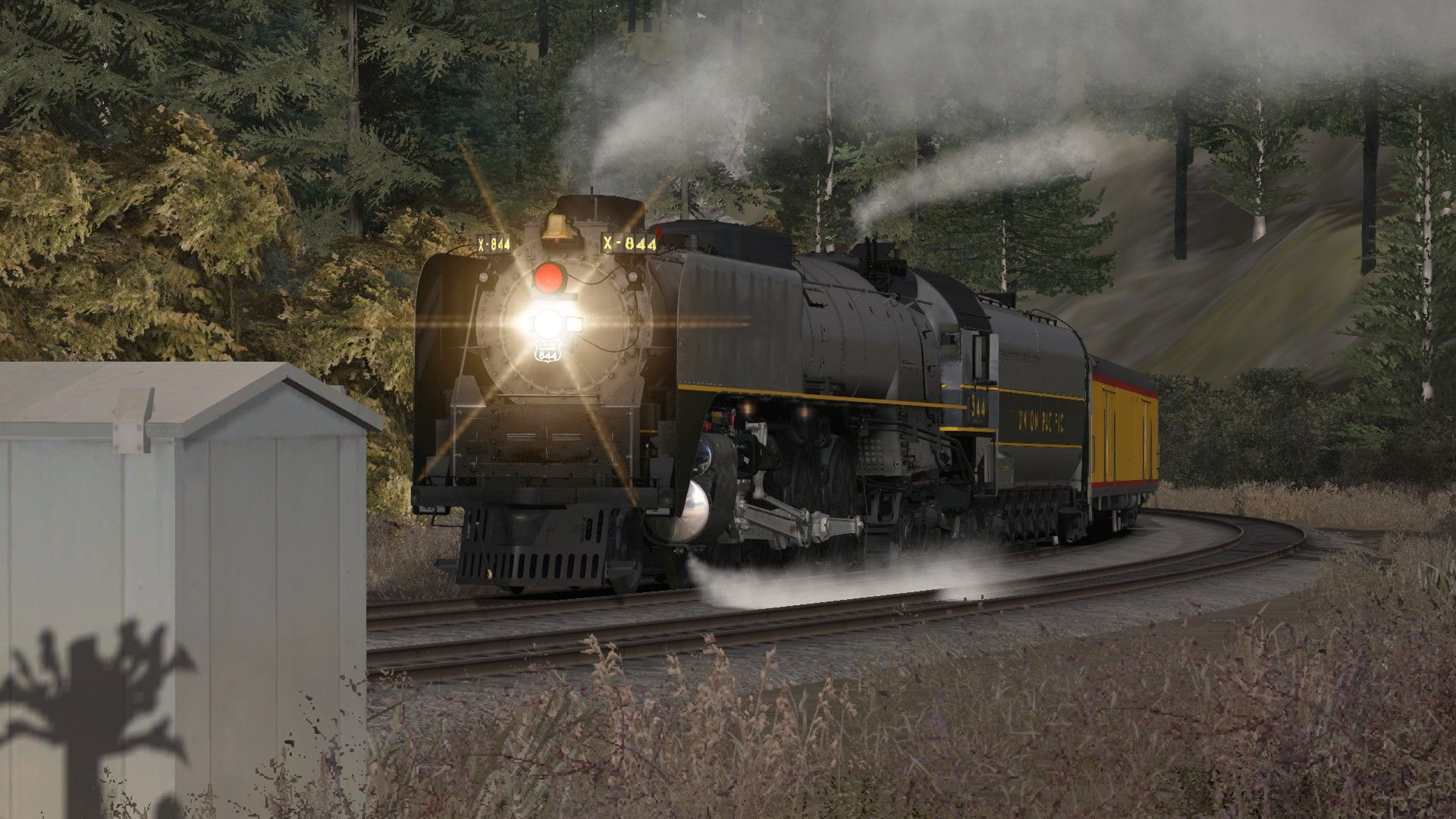 Image showing screenshot of the Union Pacific FEF-3 Overland Add-on Livery on the TS Marketplace