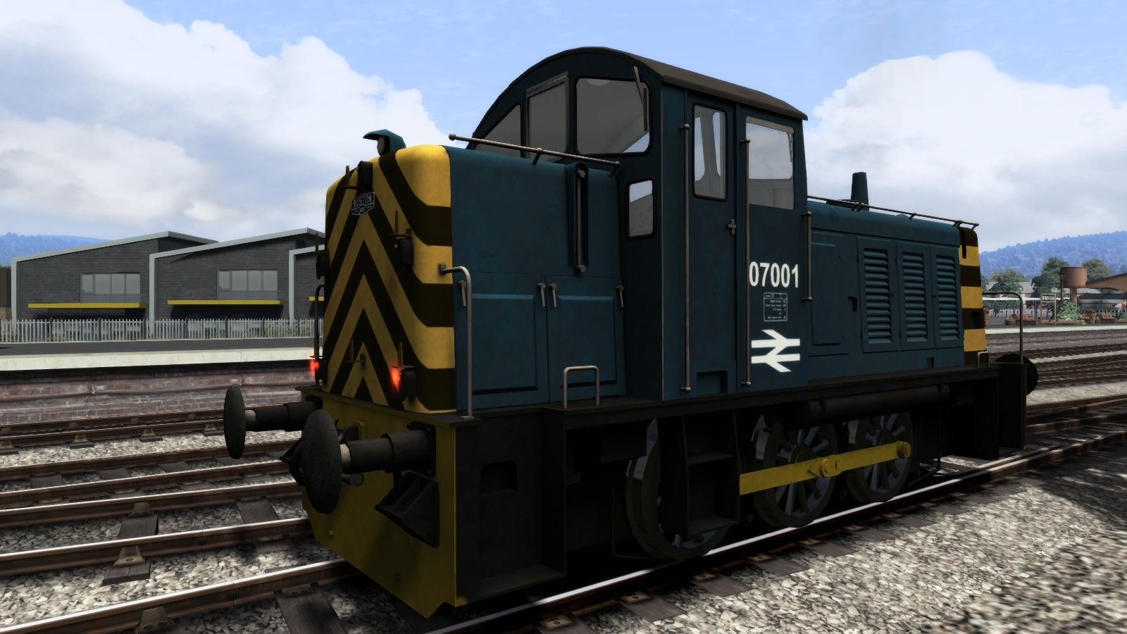 Image showing screenshot of the BR Blue Class 07 Add-On Livery on the TS Marketplace