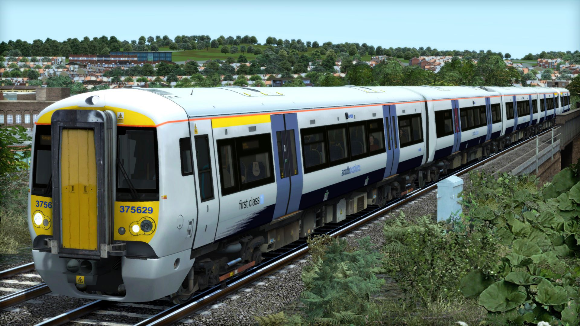 Image showing screenshot of the Class 375 Southeastern Livery Pack Add-On on the TS Marketplace