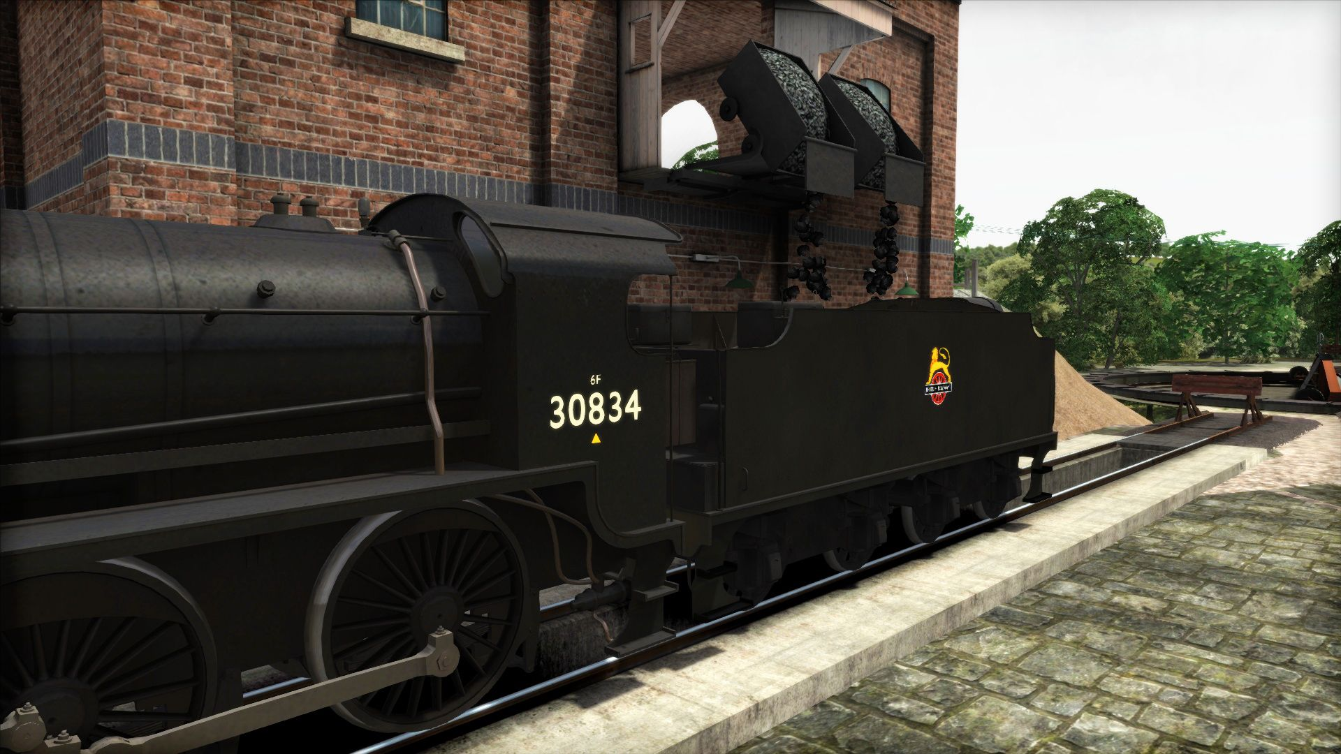 Image showing screenshot of the British Railways S15 Livery Pack Add-On on the TS Marketplace