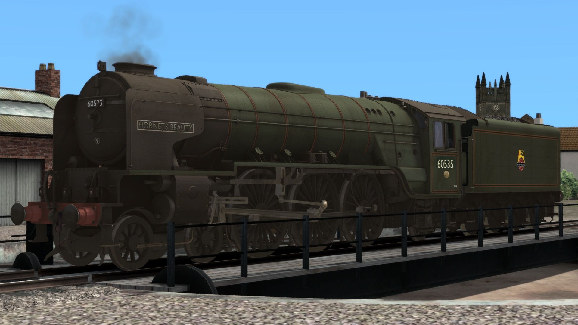 Image showing screenshot of the British Railways Class A2 Livery Pack Add-On on the TS Marketplace