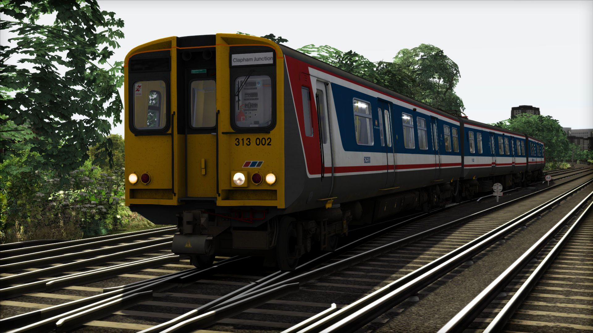 Image showing screenshot of the Network Southeast BR Class 313 Livery Pack on the TS Marketplace