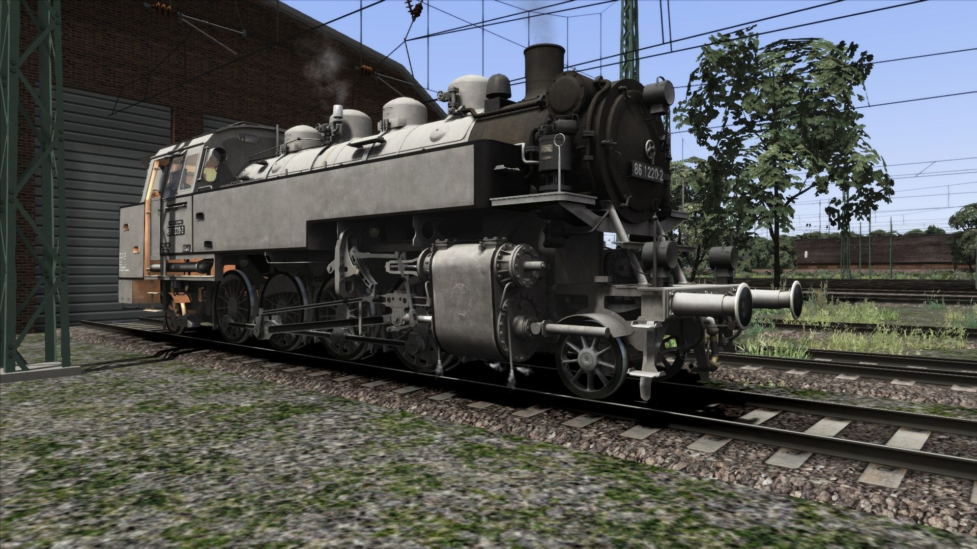 Image showing screenshot of the DRG BR 86 Grey Livery Pack Add-On on the TS Marketplace