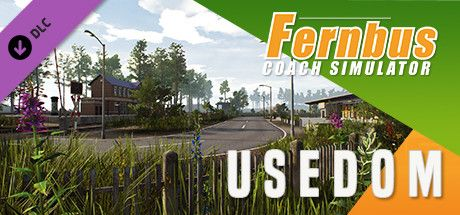 Clickable image taking you to the Steam store page for the Usedom DLC for Fernbus Simulator