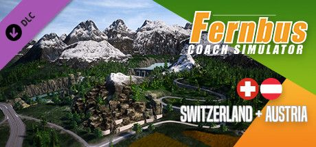 Clickable image taking you to the Steam store page for the Austria/Switzerland DLC for Fernbus Simulator