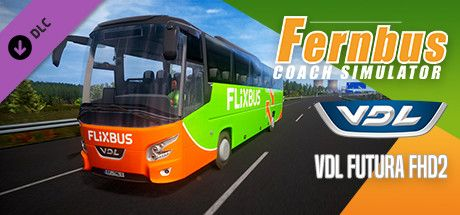 Clickable image taking you to the Steam store page for the VDL Futura FHD2 DLC for Fernbus Simulator