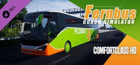 Clickable image taking you to the Steam store page for the Comfort Class HD DLC for Fernbus Simulator