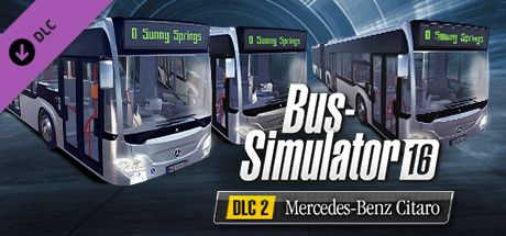 Clickable image taking you to the Green Man Gaming store page for the Mercedes-Benz Citaro Pack DLC for Bus Simulator 16