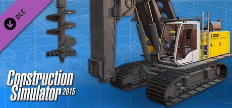 Clickable image taking you to the Green Man Gaming store page for the Liebherr LB 28 DLC for Construction Simulator 2015