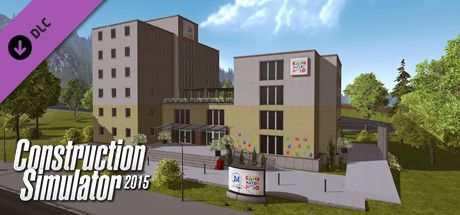 Clickable image taking you to the Steam store page for the St. John's Hospital Fuchsberg DLC for Construction Simulator 2015