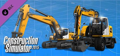 Clickable image taking you to the Green Man Gaming store page for the Liebherr A 918 DLC for Construction Simulator 2015