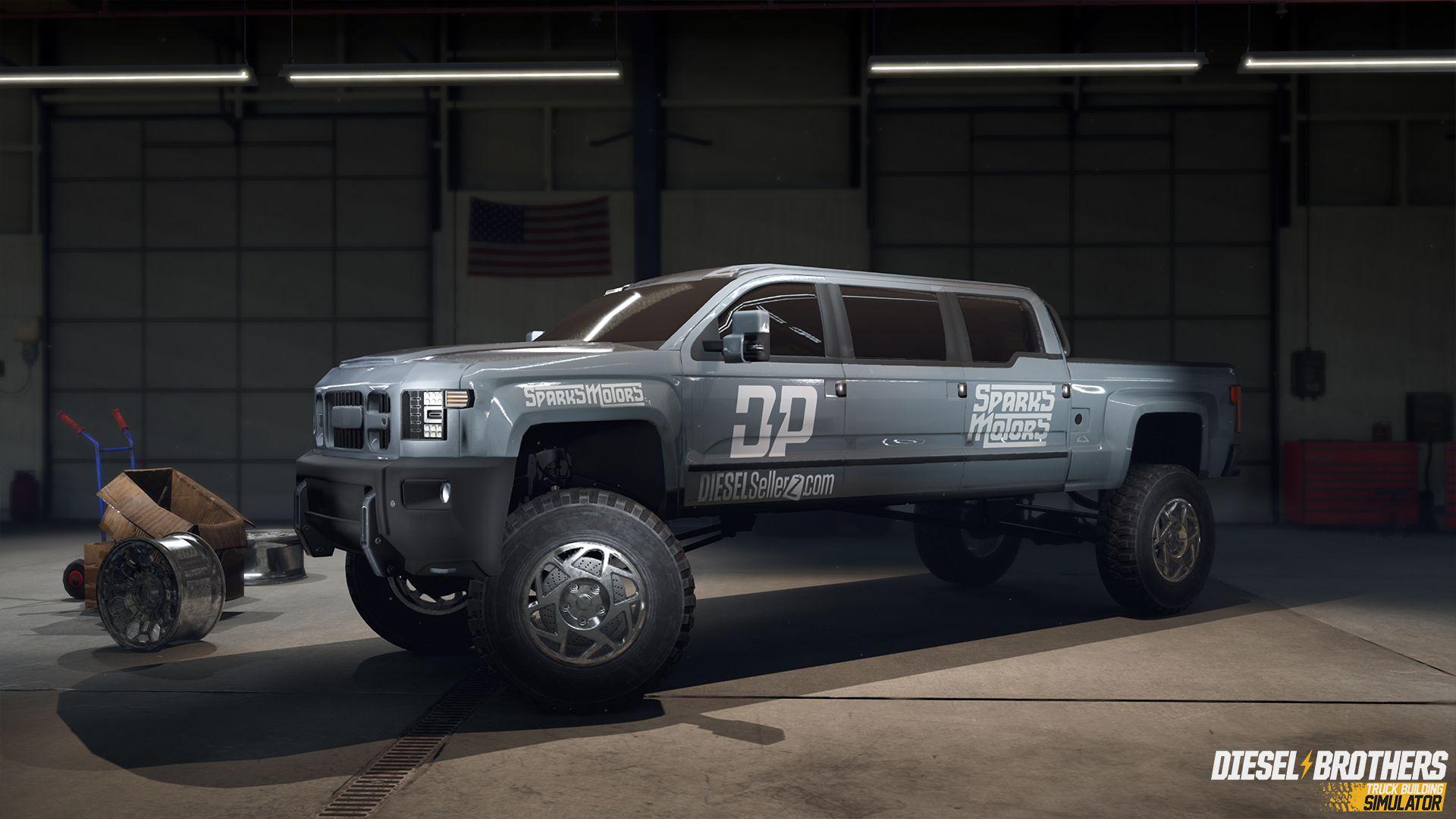 Diesel Brothers Truck Building Simulator Buy Now