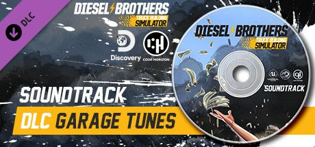 Clickable image taking you to the Steam store page for the Garage Tunes (Soundtrack) DLC for Diesel Brothers: Truck Building Simulator
