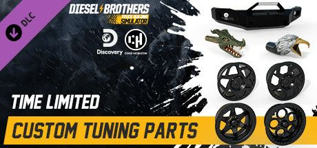 Clickable image taking you to the Steam store page for the Custom Tuning Parts DLC for Diesel Brothers: Truck Building Simulator