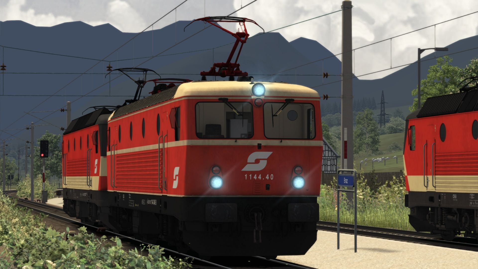 Image showing screenshot of the ÖBB 1144 Livery Pack Add-On on the TS Marketplace