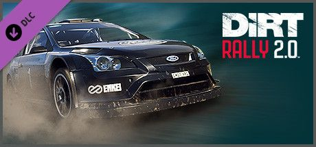 Clickable image taking you to the Steam store page for the Ford Focus RS Rally 2007 DLC for DiRT Rally 2.0