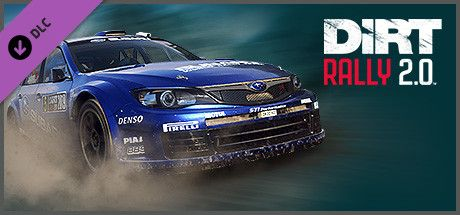 Clickable image taking you to the Steam store page for the Subaru Impreza DLC for DiRT Rally 2.0