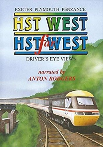 Image showing the cover of the HST West & HST Far West - Exeter to Penzance driver's eye view film