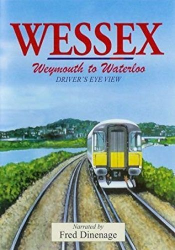 Image showing the cover of the Wessex: Weymouth to London Waterloo driver's eye view film