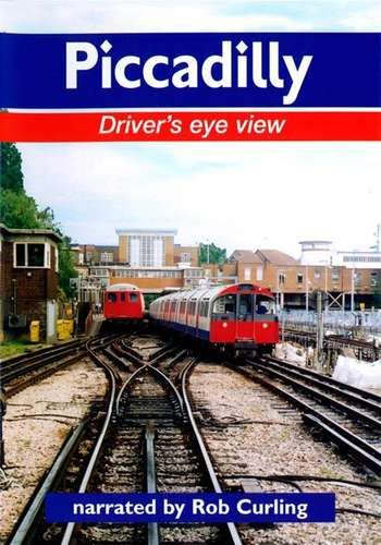 Clickable image taking you to the Piccadilly Line Driver's Eye View